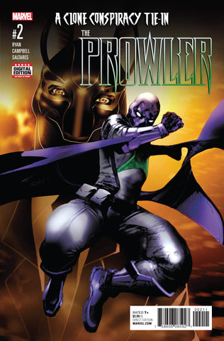 Prowler 2 Marvel Now 2016 Spider-Man Clone Conspiracy
