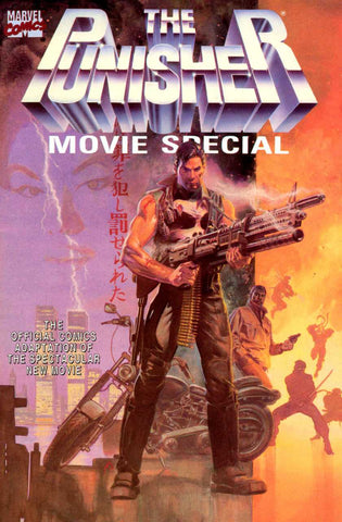 Punisher Movie Special Marvel Graphic Novel 1990