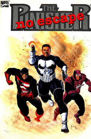 Punisher No Escape Marvel Graphic Novel 1990