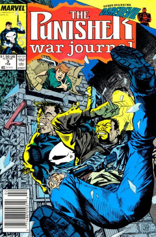 Punisher War Journal 3 Marvel 1988