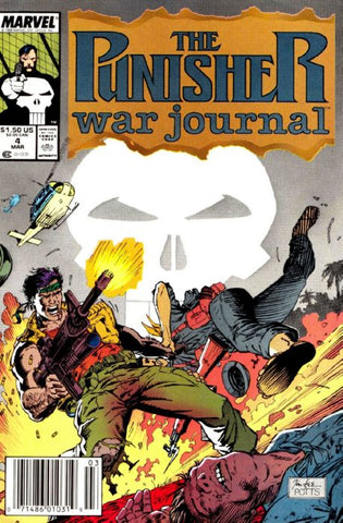 Punisher War Journal 4 Marvel 1988
