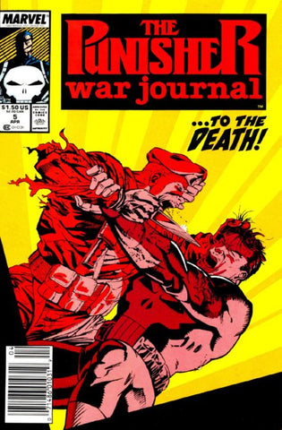 Punisher War Journal 5 Marvel 1988
