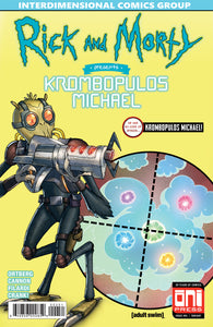 Rick And Morty Presents Krombopulos Michael 1 Mike Vasquez Amazing Spider-Man 129 Homage Variant