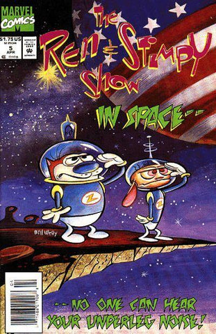 Ren and Stimpy Show 5 Marvel 1993