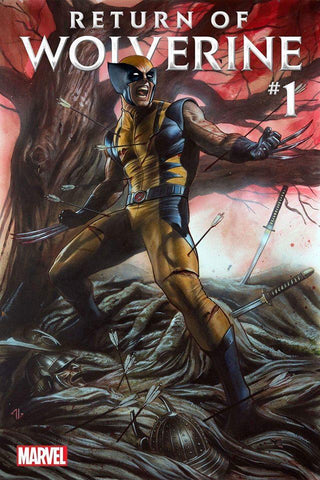 RETURN OF WOLVERINE #1 (OF 5) Marvel 2018 Adi Granov Variant
