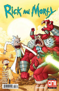 Rick And Morty 36 Oni Mike Vasquez Incredible Hulk 181 Homage Variant Wolverine (03/28/2018)