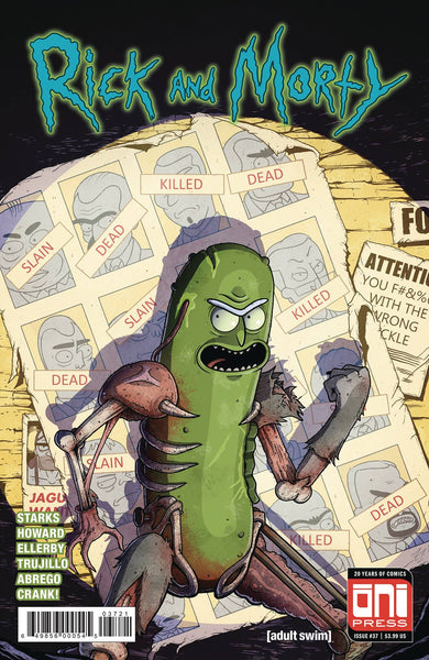 Rick And Morty 37 Oni 2018 Mike Vasquez Pickle Rick Uncanny X-Men 141 Homage Variant (04/25/2018)