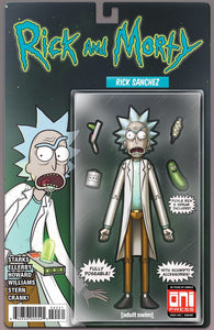 Rick & Morty 42 Oni Mike Vasquez Rick Sanchez Action Figure Variant (09/26/2018) Reservation