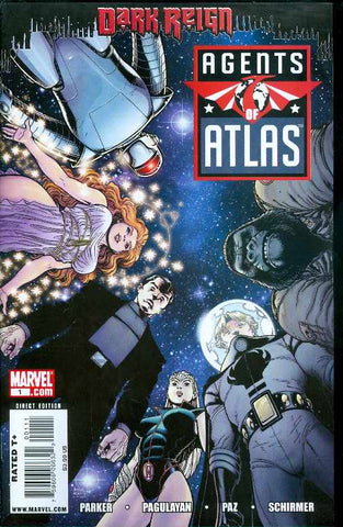 Agents of Atlas 1 A Marvel 2009 NM Art Adams Dark Reign