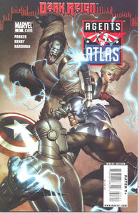 Agents of Atlas 3 A Marvel 2009 NM ADI GRANOV Dark Reign