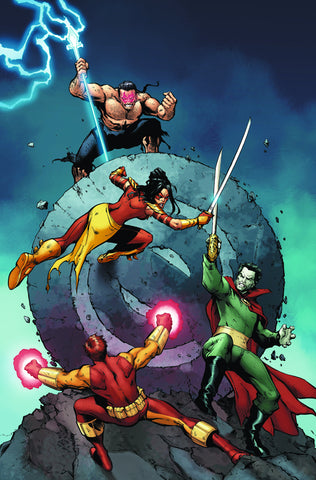 Outsiders #20 4Th Series DC 2009 Peter J. Tomasi Lee Garbett