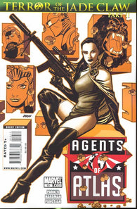 Agents of Atlas 10 Marvel 2009 NM DAVE JOHNSON