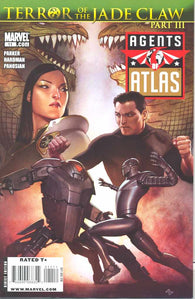 Agents of Atlas 11 Marvel 2009 NM ADI GRANOV