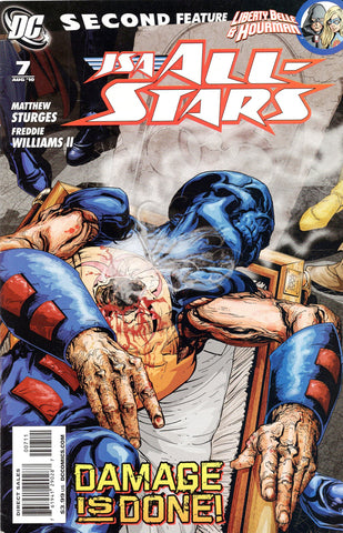 JSA All Stars #7 2Nd Series DC 2010 Matthew Sturges  Freddie Williams Ii