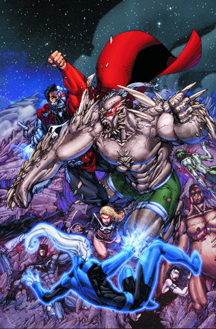 Justice League Of America #55 A (Doomsday) 2Nd Series DC 2011 Brett Booth James Robinson