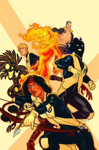 New Mutants #38 3Rd Series Xregb Marvel 2012 Dan Abnett Kris Anka