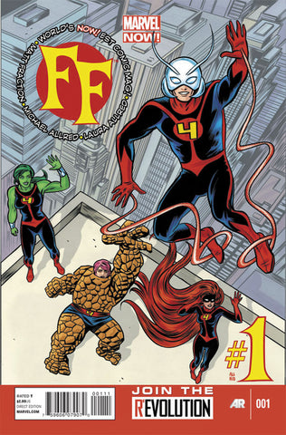 FF #1 A 2nd Series Marvel 2013 Mike Allred Matt Fraction Fantastic Four