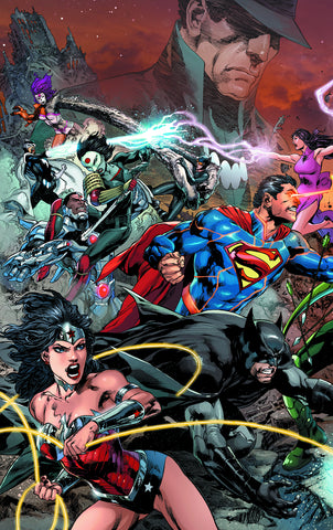 Justice League #22 A (Trinity) DC 2013 Ivan Reis Geoff Johns
