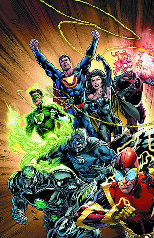 Justice League #24 A (Evil) DC 2013 Ivan Reis Geoff Johns