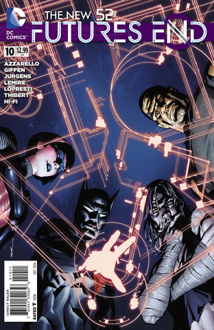 New 52 Futures End #10 DC 2014 Ryan Sook Keith GiFFen