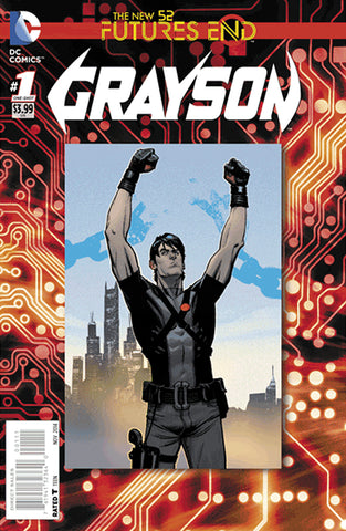 Grayson Futures End #1 A DC 2014 Andrew Robinson Tim Seeley New 52