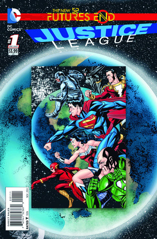 Justice League Futures End #1 A DC 2014 Jeff Lemire Mike Mckone
