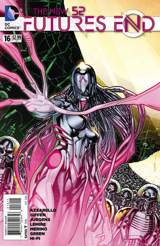 New 52 Futures End #16 DC 2014 Ryan Sook Keith GiFFen