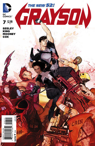 Grayson #7 A DC 2015 Mikel Janin Tim Seeley New 52