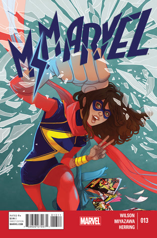 Ms Marvel #13 A 3Rd Series Marvel 2015 G. Willow Wilson Marguerite Sauvage