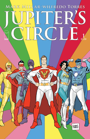 Jupiters Circle #1 D Image 2015 Mark Millar Goran Parlov