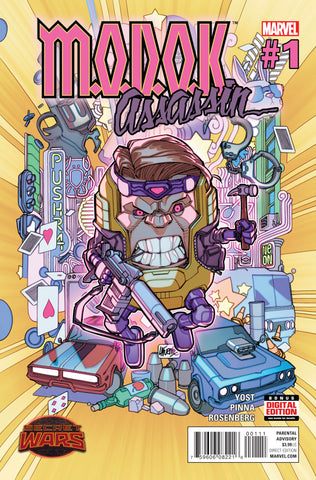 Modok Assassin #1 A (Of 5) Swa Marvel 2015 Christopher Yost David Lafuente