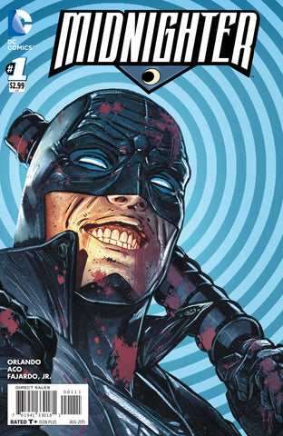 Midnighter #1 A 2Nd Series DC 2015 Steve Orlando Aco Marina
