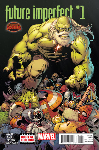 Future Imperfect #1 A Marvel 2015 Greg Land Peter David Secret Wars Hulk