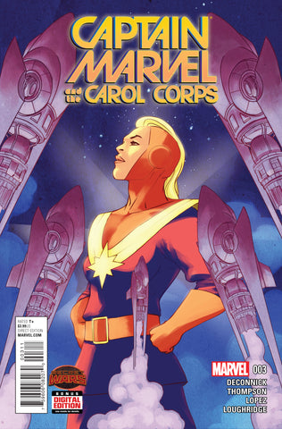 Captain Marvel And Carol Corps #3 A Marvel 2015 David Lopez Kelly Sue DeConnick