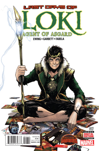 Loki Agent Of Asgard #17 Swa Marvel 2015 Al Ewing Lee Garbett