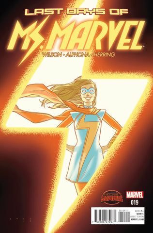Ms Marvel #19 A 3Rd Series Swa Marvel 2015 G. Willow Wilson Kris Anka