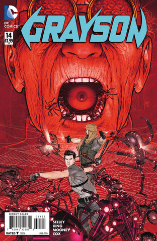 Grayson #14 A DC 2016 Mikel Janin Tim Seeley New 52