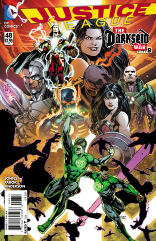 Justice League #48 A DC 2016 Jason Fabok Geoff Johns