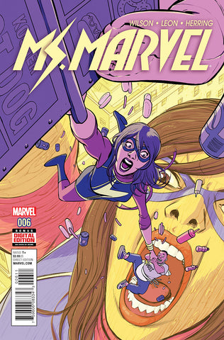 Ms Marvel #6 A 4Th Series Marvel 2016 G. Willow Wilson David Lopez