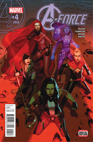 A-Force 4 2nd Series Marvel 2016 NM Jorge Molina