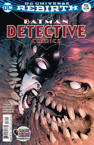 Batman Detective Comics 936 A DC 2016 NM Rebirth Eddy Barrows Clayface Batwoman
