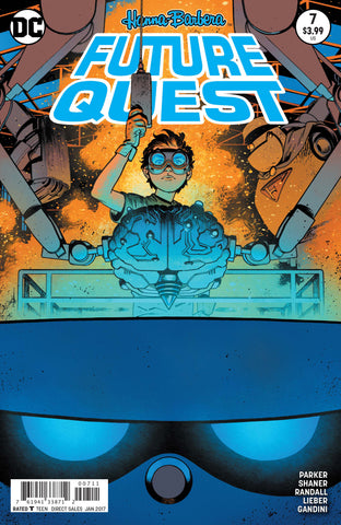 Future Quest #7 A DC 2017 Evan Shaner JeFF Parker Hanna Barbera
