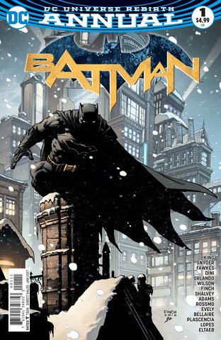 Batman Annual 1 DC 2016 NM Rebirth David Finch Tom King Scott Snyder