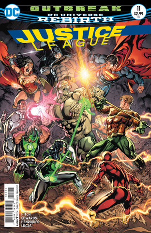 Justice League #11 A DC 2017 Bryan Hitch Fernando Pasarin