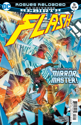 Flash #16 A 5th Series DC 2017 Carmine Di Giandomenico Joshua Williamson Rebirth