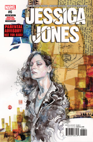 Jessica Jones #6 A Now 2Nd Series Marvel 2017  Brian Michael Bendis David Mack