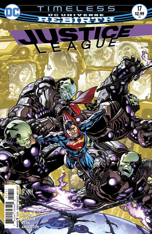 Justice League #17 A DC 2017 Bryan Hitch Fernando Pasarin