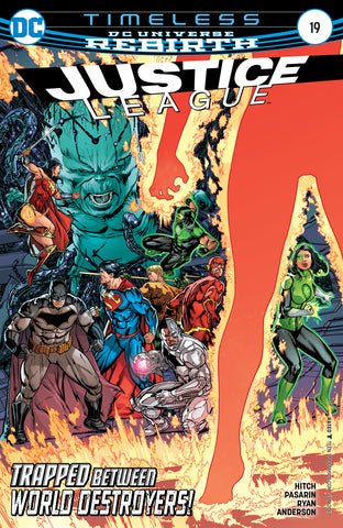 Justice League #19 A DC 2017 Bryan Hitch Fernando Pasarin