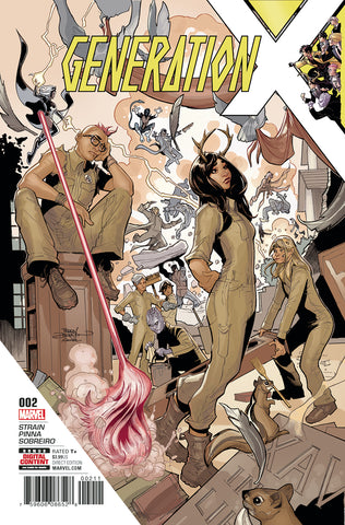 Generation X #2 A 3rd Series Marvel 2017 Terry Dodson Christina Strain X-Men