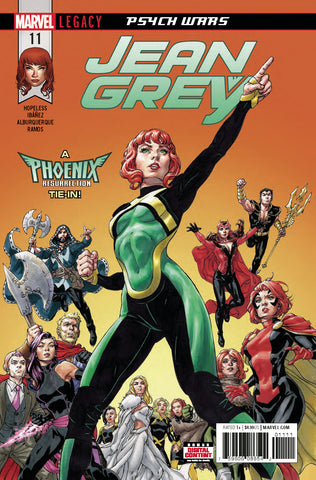 Jean Grey #11 A Leg Marvel 2018 Dennis Hopeless David Yardin